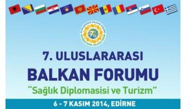 """""""Sağlık Diplomasisi ve Turizm"""" Edirne'de"""